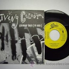 Discos de vinilo: SINGLE VINILO 'GLAMOUR BOYS (RE-MIX)' - LIVING COLOUR. Lote 17852941