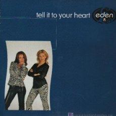 Discos de vinilo: EDEN - TELL IT YOUR HEART - MAXISINGLE 1997. Lote 17853962