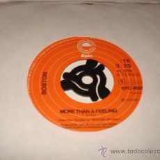 Discos de vinilo: BOSTON / MORE THAN A FEELING - SMOKIN' - SINGLE HOLLAND 1ª EDICIÓN DE 1976!. Lote 26913370