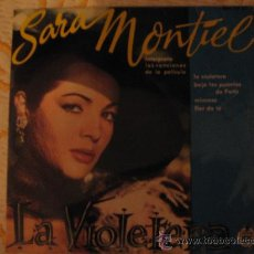 Discos de vinilo: SARITA MONTIEL. Lote 17856595