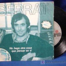 Discos de vinilo: - JOAN MANUEL SERRAT - NO HAGO OTRA COSA QUE PENSAR EN TI - ARIOLA 1981. Lote 17864275