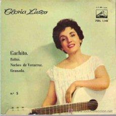 Discos de vinilo: GLORIA LASSO - CACHITO * EP Nº 5 ESPAÑA 1958 ** ** . Lote 45532412