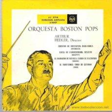 Discos de vinilo: BOSTON POPS - ARTHUR FIEDLER ** LOS CUENTOS DE HOFFMAN ** P RCA ESPAÑA 1958. Lote 17865763