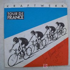 Discos de vinilo: KRAFTWERK - TOUR DE FRANCE. 1983. LA SINTONIA DE LA VUELTA CICLISTA A FRANCIA.. Lote 211390765