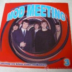 Discos de vinilo: LP MOD MEETING VOL. 3 VINYL FREAKBEAT SOUL BEAT MOD. Lote 26865088