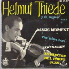 Discos de vinilo: HEMUT THIEDE - MAGIC MOMENT * EP HISPAVOX 1959 . Lote 17882412