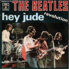 Discos de vinilo: THE BEATLES-SPANISH SINGLE 1968. Lote 18123701