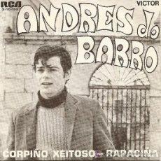 Discos de vinilo: ANDRES DO BARRO-SINGLE ESPAÑOL 1970 *VER FOTO ADICIONAL*. Lote 18124062