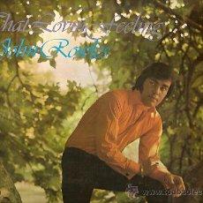 Discos de vinilo: JOHN ROWLES LP SELLO EMI AÑO 1969 EDITADO EN ESPAÑA.. Lote 17884721