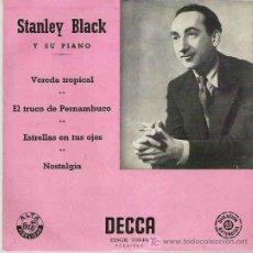 Discos de vinilo: STANLEY BLACK Y SU PIANO - VEREDA TROPICAL - EP DECCA ESPAÑA 1958 ** . Lote 17894702