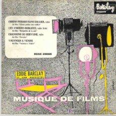 Discos de vinilo: MUSIQUE DE FILMS - EDDIE BARCLAY ** COLUMBIA ESPAÑA 1959. Lote 17894741