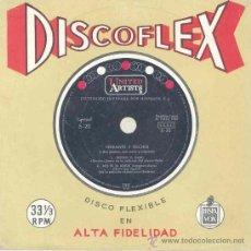 Discos de vinilo: FERRANTE Y TEICHER - EXODO / NO ES EL ADIOS - DISCO FLEXIBLE, ESPAÑOL DE 1961. Lote 17928039