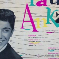 Discos de vinil: PAUL ANKA,DEL 59 1ª EDICION ESPAÑOLA EN MONO. Lote 17928217