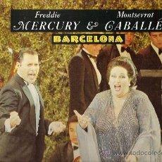 Discos de vinilo: FREDDIE MERCURY / MONSERRAT CABALLE MAXI-SINGLE SELLO POLYDOR AÑO 1987 EDICCIÓN ESPAÑOLA. Lote 17929585