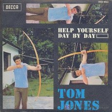 Discos de vinilo: TOM JONES - HELP YOURSELF + DAY BY DAY (1968). Lote 27112372