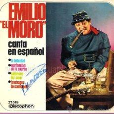 Discos de vinilo: SINGLE-LOTE 8 DISCOS VINILO AÑOS 60-EL MORO-ETZEL-LOS MISMOS-LOS LLANEROS-COLE-PAYOS-MISMOS-STOP. Lote 26360586