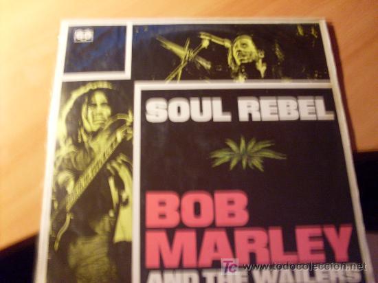 BOB MARLEY AND THE WAILERS ( SOUL REBEL ) LP ESPAÑA 1982 ( VIN22) (Música - Discos - LP Vinilo - Reggae - Ska)