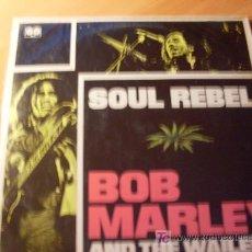 Discos de vinilo: BOB MARLEY AND THE WAILERS ( SOUL REBEL ) LP ESPAÑA 1982 ( VIN22). Lote 27174128
