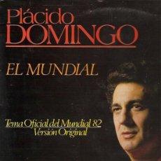 Discos de vinilo: PLACIDO DOMINGO MAXI-SINGLE SELLO POLYDOR AÑO 1982. Lote 17984838