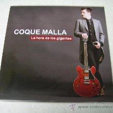 LP + SINGLE COQUE MALLA LA HORA DE LOS GIGANTES VINILO RONALDOS
