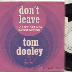 Discos de vinilo: SINGLE 45 RPM / TOM DOOLEY (ROLLING STONES ) SATISFACTION EDITADO FESTIVAL . Lote 18001152