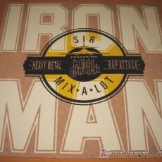 Discos de vinilo: IRON MAN - SIR MIX A LOT / METAL CHURCH - MAXI 4 TRACKS -BCM RECORDS- HEAVY METAL RAP ATTACK -N MINT. Lote 25387727