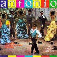 Discos de vinilo: ANTONIO EL BAILARÍN (CON ANTONIO MAIRENA AL CANTE) - 1962. Lote 53401741