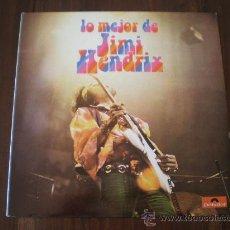 Discos de vinilo: JIMI HENDRIX - LO MEJOR DE JIMI HENDRIX - (ESPAÑA-POLYDOR-1980) ROCK LP. Lote 22243883