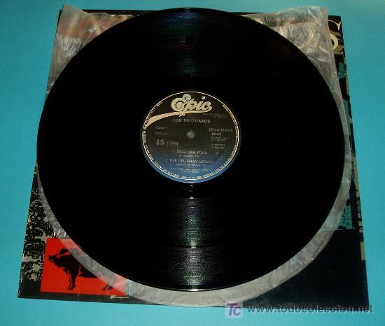 Discos de vinilo: LOS INHUMANOS. MAXI-SINGLE. EPIC. 1984 - Foto 3 - 19628328