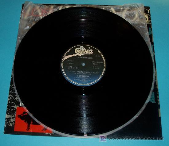 Discos de vinilo: LOS INHUMANOS. MAXI-SINGLE. EPIC. 1984 - Foto 4 - 19628328