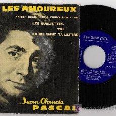 Discos de vinilo: JEAN CLAUDE PASCAL PRIMER PREMIO 1961 EUROVISION. Lote 27521610
