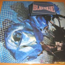 Discos de vinilo: BLACK N BLUE - WITH OUT LOVE - LP - GEFFEN 1985 USA GHS 24075 - NUEVO - MINT SEALED. Lote 22745016
