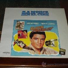 Discos de vinilo: ELVIS PRESLEY LP BANDA SONORA ORIGINAL LOVE ME TENDER / ROCK DE LA CARCEL. Lote 22444029