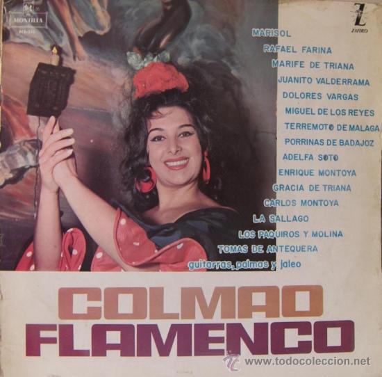 MARISOL, FARINA, VALDERRAMA, MARIFE DE TRIANA, TOMÁS DE ANTEQUERA... 1963 (Música - Discos - LP Vinilo - Flamenco, Canción española y Cuplé)