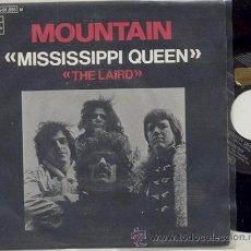 Discos de vinilo: SINGLE PROMO 45 RPM / MOUNTAIN / MISSISSIPPI QUEEN // EDITADO POR EMI ESPAÑA 1970. Lote 26911433