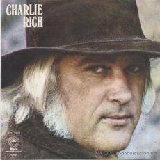 Discos de vinilo: CHARLIE RICH,THE MOST BEAUTIFUL GIRL DEL 73 EDICION PORTUGESA. Lote 18128032