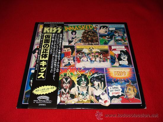 KISS / UNMASKED - LP AUDIÓFILOS JAPÓN CON OBI Y ENCARTE/ LETRAS ORIGINALES!!! (Música - Discos - LP Vinilo - Heavy - Metal)