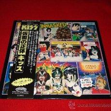 Discos de vinilo: KISS / UNMASKED - LP AUDIÓFILOS JAPÓN CON OBI Y ENCARTE/ LETRAS ORIGINALES!!!. Lote 27573256