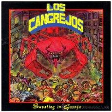 Discos de vinilo: LOS CANGREJOS – SWEATING IN GASOFA – EP SPAIN 1990 – RABIA RECORDS R 90009. Lote 18135989