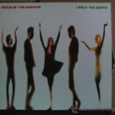 Discos de vinilo: VOICE OF THE BEEHIVE ---- I WALK THE EARTH - MAXI SINGLE. Lote 18148117