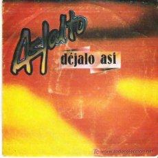 Disques de vinyle: ASFALTO - DEJALO ASI ** CHAPA DISCOS 1981. Lote 19752060