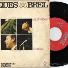 Discos de vinilo: E.P. JACQUES BREL MATHILDE DISCOS ORLADOR 1969. Lote 18171680