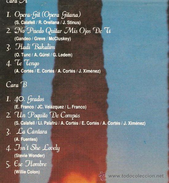 Discos de vinilo: MAXI SINGLE RUMBA : RUMBEAT - OPERA-GIT (OPERA GITANA) - Foto 2 - 29875923