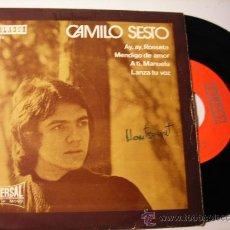 Discos de vinilo: CAMILO SESTO. AY, AY, ROSETTA. 1971. Lote 18189208
