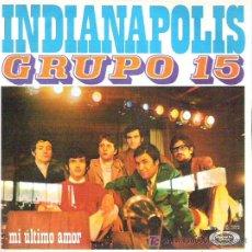 Discos de vinilo: GRUPO 15 - INDIANAPOLIS ** MOVIE PLAY 1970. Lote 18204826