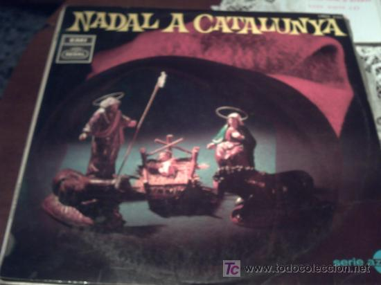 LP: NADAL A CATALUNYA. ORFEO DE SANTS, ESCOLANIA DEL MONASTERIO DE MONTSERRAT, CAPILLA CLÁSICA DEL F (Música - Discos - LP Vinilo - Clásica, Ópera, Zarzuela y Marchas)