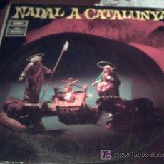Discos de vinilo: LP: NADAL A CATALUNYA. ORFEO DE SANTS, ESCOLANIA DEL MONASTERIO DE MONTSERRAT, CAPILLA CLÁSICA DEL F. Lote 18213060