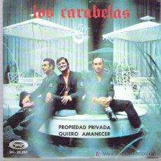 Discos de vinilo: LOS CARABELAS - PROPIEDAD PRIVADA ** MOVIE PLAY 1969 MINT. Lote 19422879