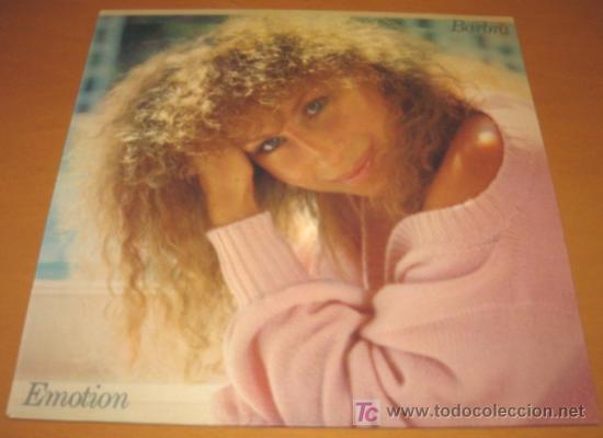 BARBRA STREISAND - EMOTION - LP - CBS 1984 SPAIN S 86309 CON LETRAS - COMO NUEVO / N MINT (Música - Discos - LP Vinilo - Pop - Rock - New Wave Extranjero de los 80)