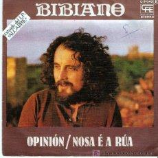Discos de vinilo: SINGLE DE BIBIANO. Lote 27396445